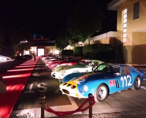Macchine evento Ferrari